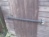 1000mm / 1m Garden Garage Shed Locking Hinged Security Bar by Paradise Tools & Hardware -